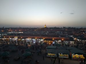 Marrakech city