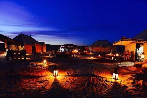Merzouga desert night